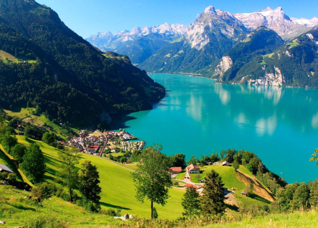 Switzerland. Joe Walchli
