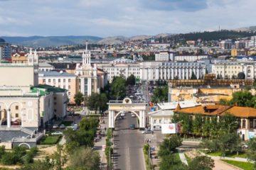 Norilskaya street in Buryat capital