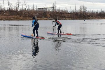 SUP-surfing school opened in Norilsk