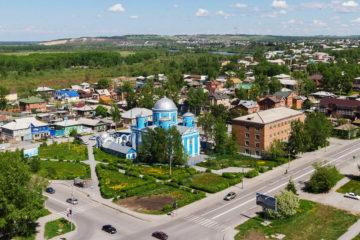 Norilskaya street in Achinsk