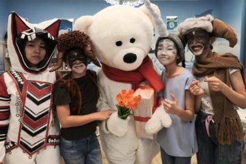 Polar Bear met guests