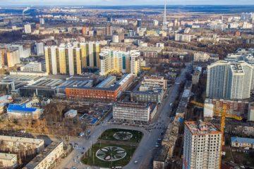 Evolution of Norilskaya street in Perm city