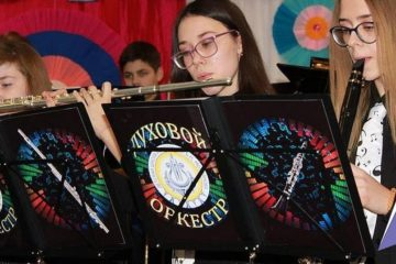 Dudinka School of Arts acquired 80 new musical instruments