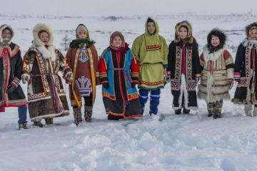 Taimyr congratulates in different languages