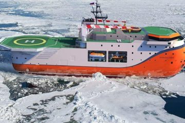 North Pole self-propelled platform launched