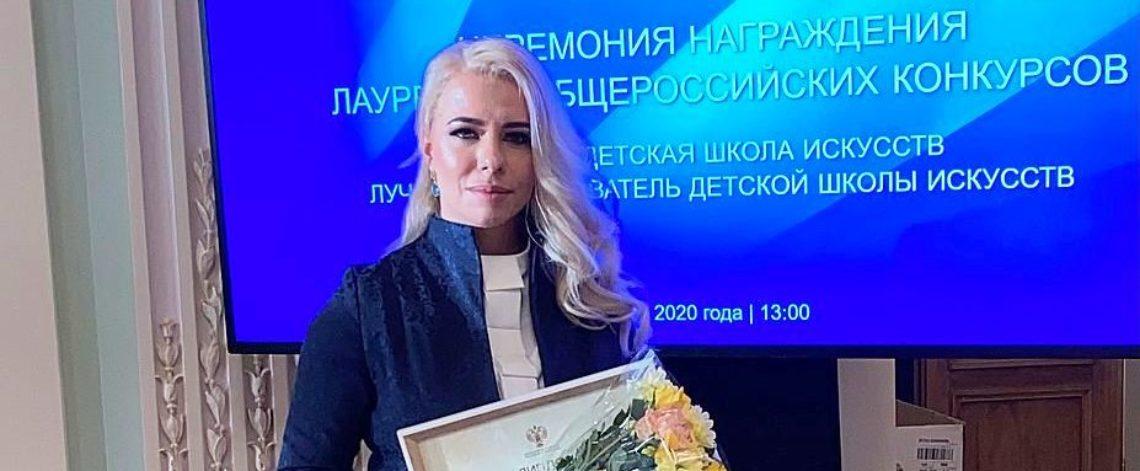 Best children's art school teacher lives in Norilsk