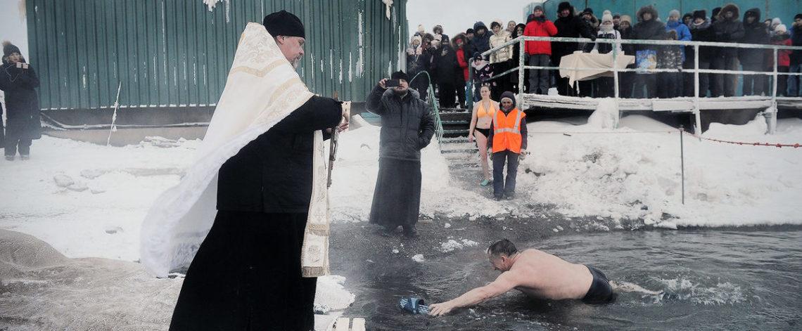 Epiphany bathing canceled in Norilsk