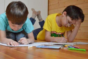 Children draw census
