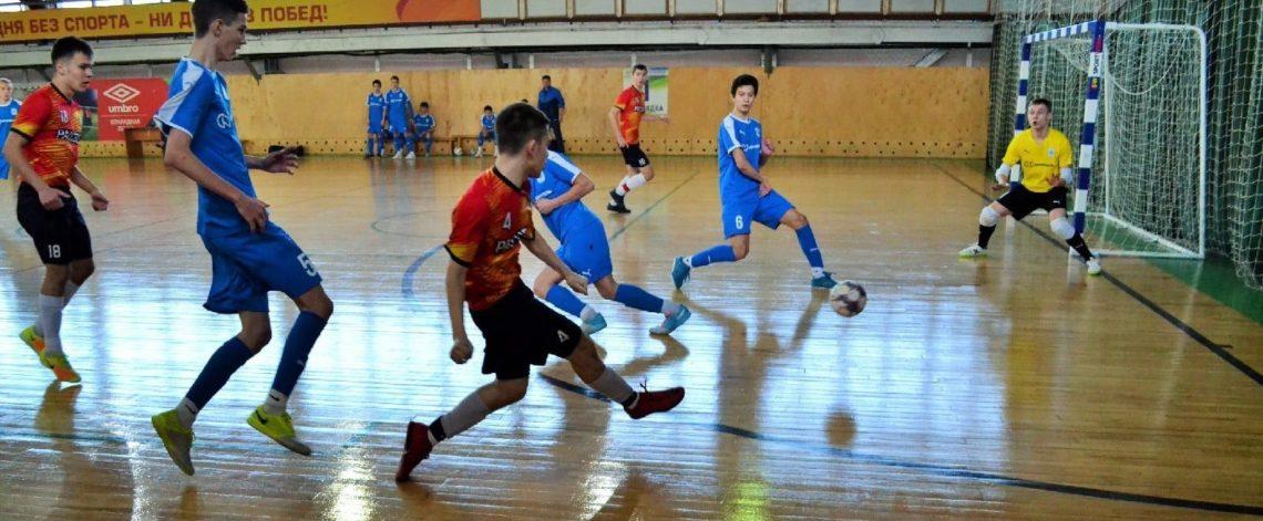 Norilsk futsal players won bronze in regional championship