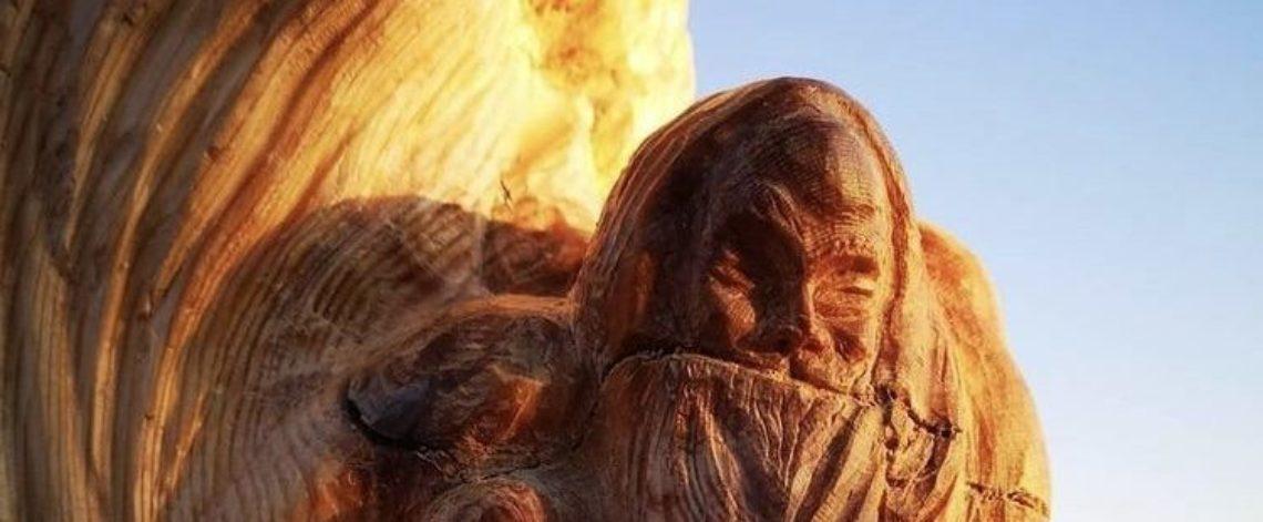 When wood draws itself