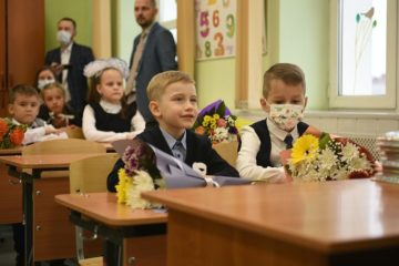 Norilsk first-graders start school with Company lesson