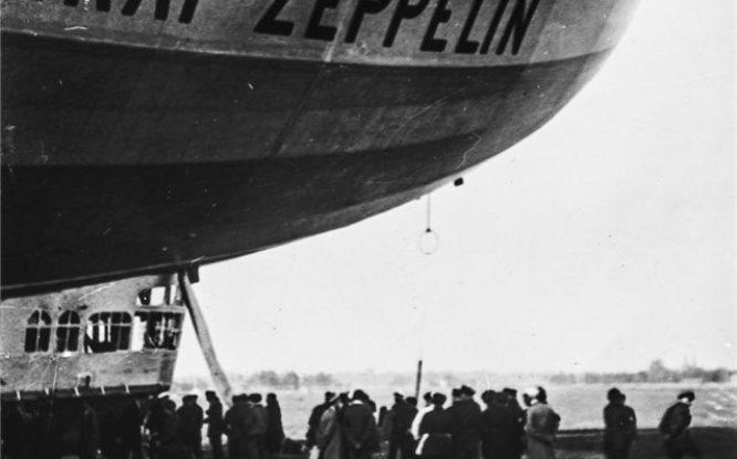 90 years ago Graf Zeppelin flew to Arctic