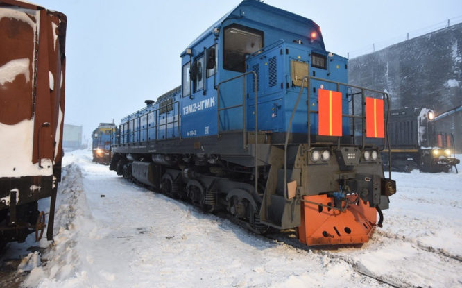 Are rails on permafrost possible?