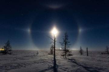 Unusual phenomenon seen in Taimyr sky