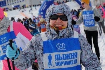 Nornickel Ski Track competition started in Norilsk