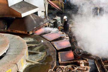 Copper melting stopped on Kola peninsula
