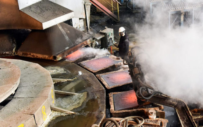 Copper melting stopped on Kola peninsula