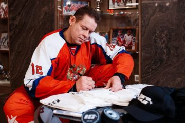 Pavel Bure announced competition winners' names