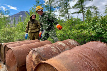 Cleaning Taimyr reserves to take ten years