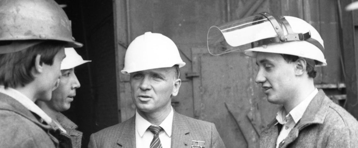 Valentin Lebedev became first cosmonaut to visit Norilsk