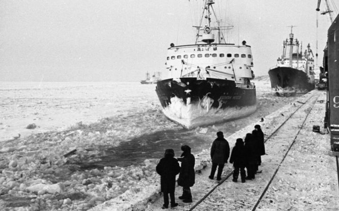 In 1971 winter crossings along Northern Sea Route became regular