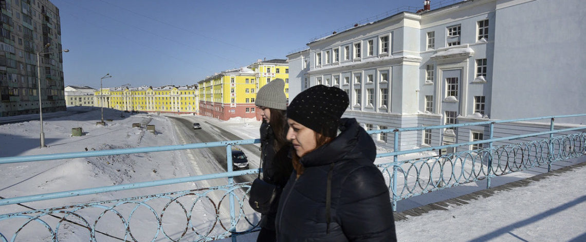 Daylight hours in Norilsk exceeded 15 hours