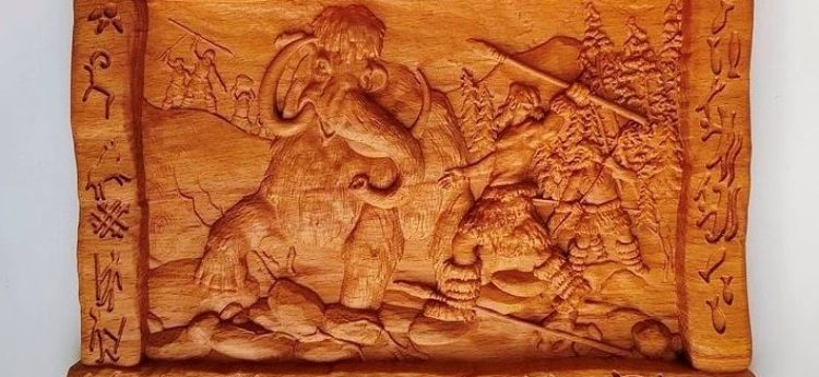 Woodcarving with northern flavor