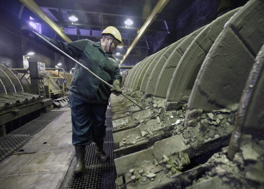 Many bright minds work at copper plant