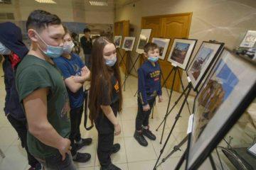 Popigai meteorite crater photo exhibition opened in Taimyr