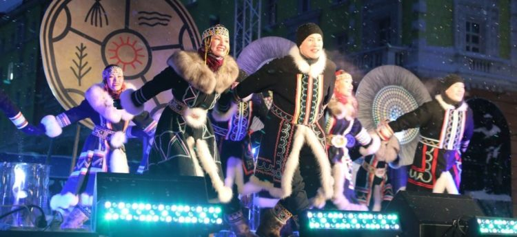Heiro and Taimyr celebrated International Dance Day