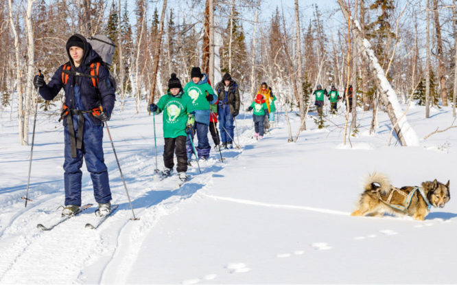 Ecological Patrol took Norilsk schoolchildren out of usual environment