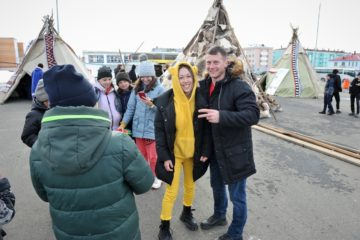 Arctic Cup 2021 guests took pictures and tasted northern cuisine
