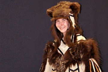Haute couture bear