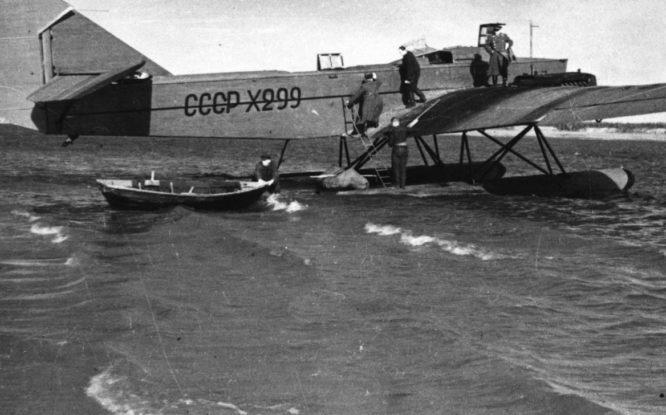 First Norilsk airfields were on water