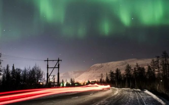 Russian satellites to predict northern lights