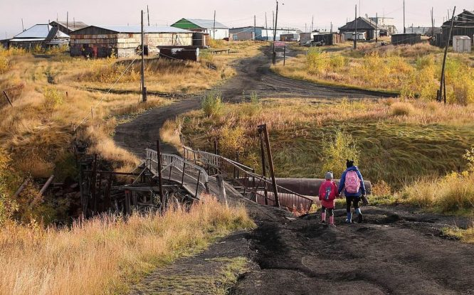 First ethnic village  to appear in Taimyr