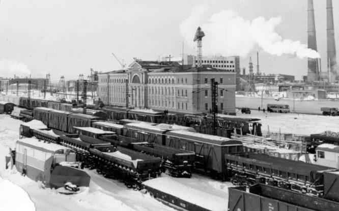 Norilsk railway station built for long-distance trains
