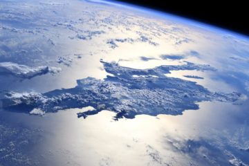 Global warming caused earth's axis shift