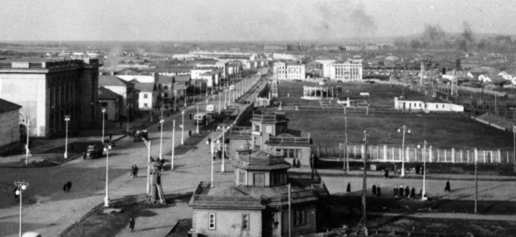 First Norilsk stadium opened during war