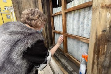 First house of Norilsk got cleaned