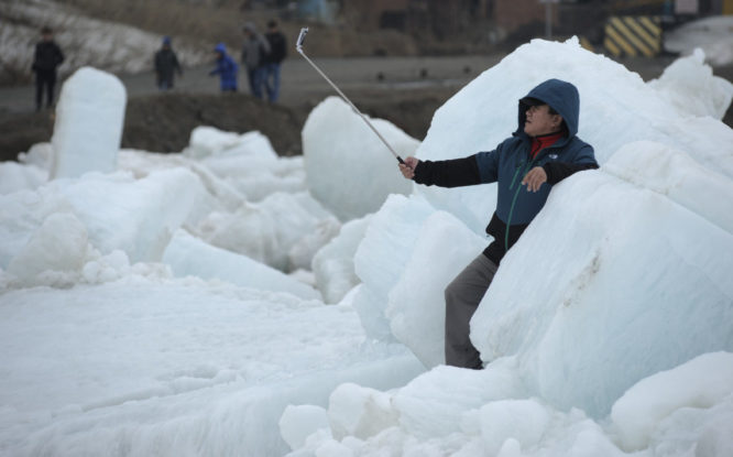 Yenisey got rid of ice