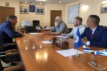 Traveler Vladimir Chukov visited Dudinka