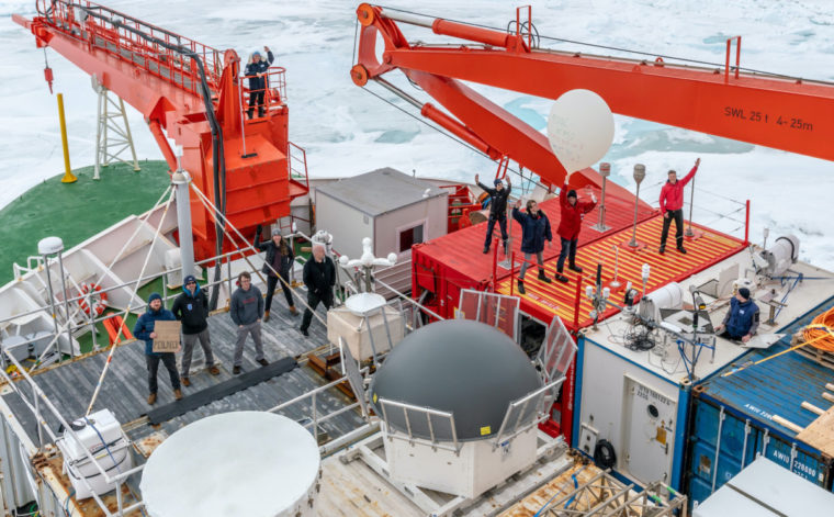 Scientists developed virtual tour to international Arctic expedition camp
