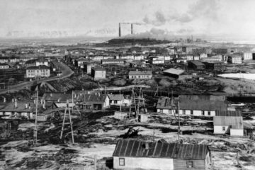 First Norilsk streets were in Old Town