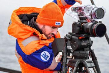 Scientists collect data on sea unicorns in Arctic