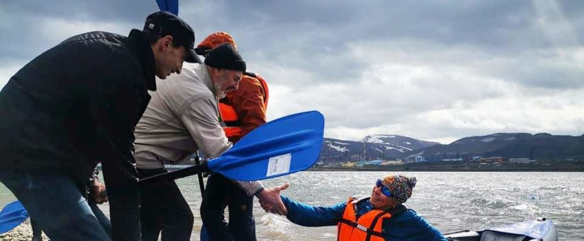 City water tourism championship held in Norilsk