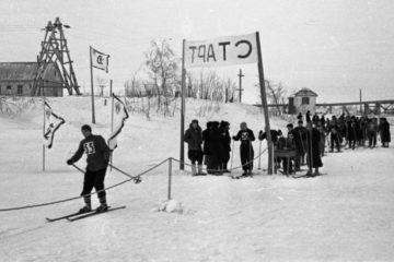 First ski station in Norilsk opened in December 1942