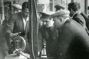 Norilsk combine got  Zavenyagin's name in 1957
