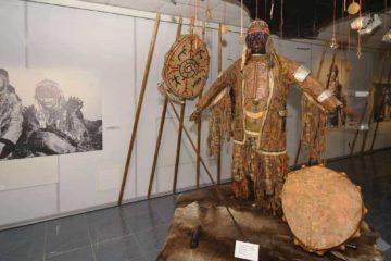 Unique shamanism exhibition works in Taimyr
