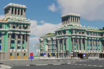 Norilsk avenue appeared in Minecraft